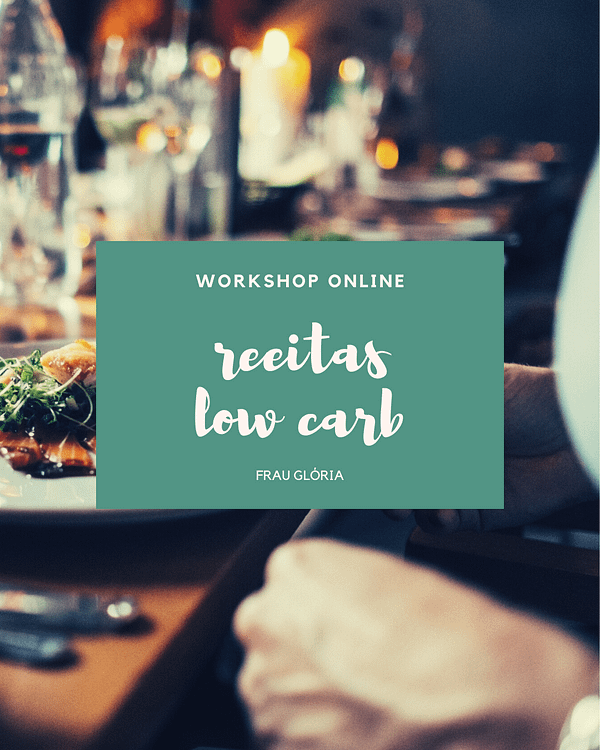 workshop receitas low carb